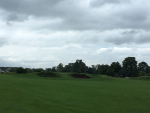 No. 16 approach at Golf Club of Dublin